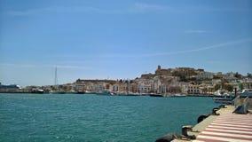Городок Ibiza, Ibiza Стоковая Фотография RF