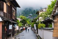 Городок Itsukushima плавая строб Torii в Miyajima Стоковые Фото