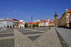 городок jicin квадратный Стоковое Фото