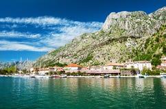 Городок Kotor стоковое фото rf