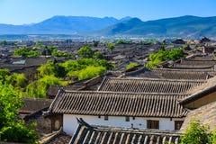Городок Lijiang старый, Китай стоковые фотографии rf