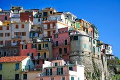 Городок Manarola национального парка Cinque Terre Стоковое Фото