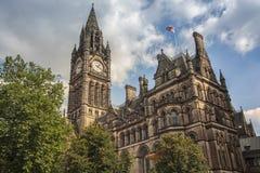 городок manchester залы Стоковая Фотография RF