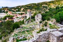 городок montenegro штанги старый Стоковые Изображения