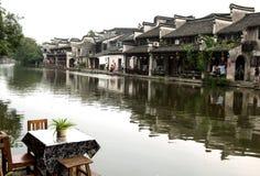 Городок Nanxun стоковые изображения