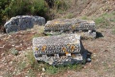 Городок Nesactium римский Стоковая Фотография RF