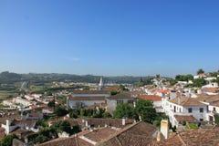 Городок Obidos Стоковые Изображения RF