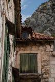 Городок Omis старый Стоковое Изображение