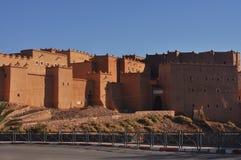 Городок Ouarzazate, Марокко стоковые фотографии rf