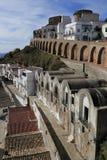 Городок Pisticci старый Стоковые Фото