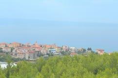 Городок Podstrana, Хорватия Стоковые Фото