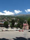 Городок Rekongpeo в Kinnaur Индии Стоковые Изображения RF