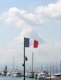 Городок St Tropez, Франция стоковые фотографии rf