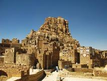 Городок Thula, Йемен стоковые изображения