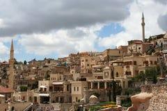 городок uchisar Стоковое Изображение