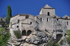 Городок Vaison-Ла-Romaine средневековый стоковая фотография rf