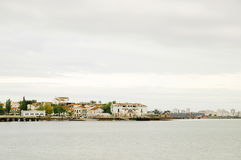 Городок White River старый Стоковые Изображения