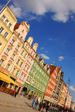 Городок Wroclaw старый Стоковое Изображение
