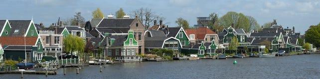 Городок Zaanse Schans, Голландия стоковое фото rf