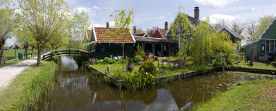 Городок Zaanse Schans стоковая фотография