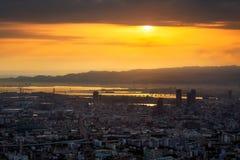 Город Осака в Tennoji Стоковое Изображение RF