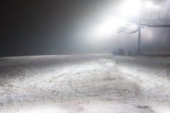 город освещает место ночи стоковые фото