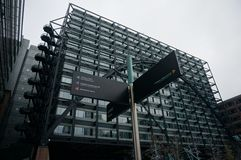 Город офисов Лондона Стоковые Фотографии RF