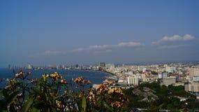 Город Паттайя Стоковое фото RF