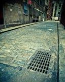 Город переулка булыжника Стоковые Фото
