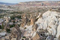 Город пещеры Goreme Стоковые Изображения