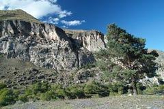 Город пещеры Vardzia Стоковые Изображения RF