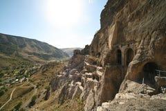 Город пещеры Vardzia, Georgia Стоковое Фото