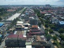 Город Пномпень Стоковая Фотография RF