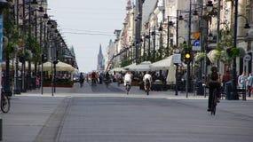 Город Польши Лодза Стоковые Изображения RF