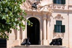 Город правительства Валлетты Мальты исторический Стоковая Фотография