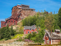 Город-привидение шахты e, Kennicott, Аляска Стоковые Изображения