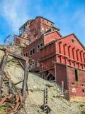 Город-привидение шахты e, Kennicott, Аляска Стоковая Фотография