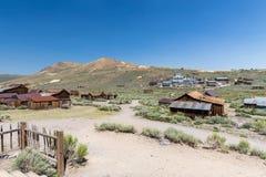 Город-привидение Bodie в Калифорнии, США Стоковое Фото