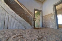 Город-привидение Kolmanskop, Намибия Стоковое фото RF
