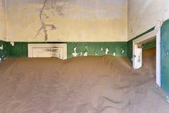 Город-привидение Kolmanskop, Намибия Стоковые Фотографии RF