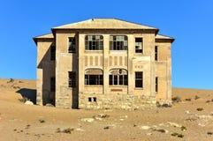 Город-привидение Kolmanskop, Намибия Стоковые Изображения