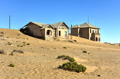 Город-привидение Kolmanskop, Намибия Стоковая Фотография RF