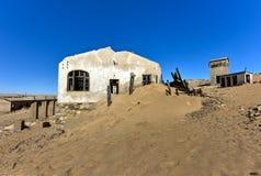 Город-привидение Kolmanskop, Намибия Стоковые Фото
