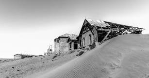 Город-привидение Kolmanskop, Намибия Стоковое Фото