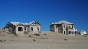 Город-привидение Kolmanskop стоковые фотографии rf