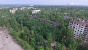 Город-привидение Pripyat видеоматериал