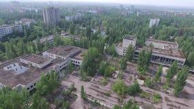 Город-привидение Pripyat акции видеоматериалы