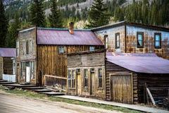 Город-привидение St Elmo Колорадо Стоковые Изображения