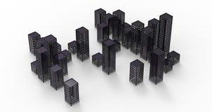 Город призрака Стоковые Изображения RF