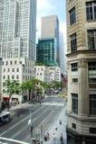 город пятое New York бульвара Стоковое Фото
